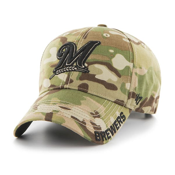 Milwaukee Brewers Myers MVP Multicam 47 Brand Adjustable Hat