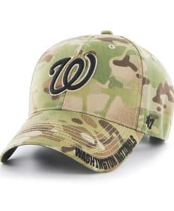 Washington Nationals Myers MVP Multicam 47 Brand Adjustable Hat