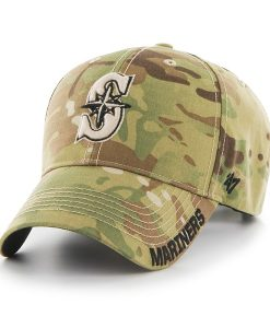 Seattle Mariners Myers MVP Multicam 47 Brand Adjustable Hat
