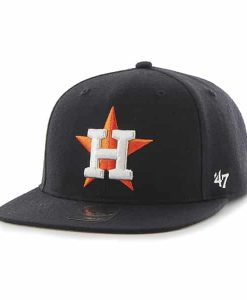 Houston Astros No Shot Captain Navy 47 Brand YOUTH Hat