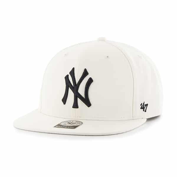 New York Yankees No Shot Captain Natural 47 Brand YOUTH Hat