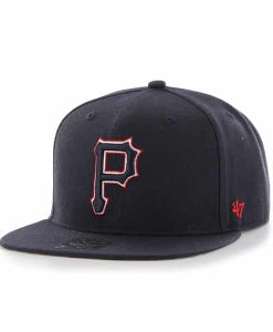 Pittsburgh Pirates No Shot Captain Navy 47 Brand Adjustable Hat