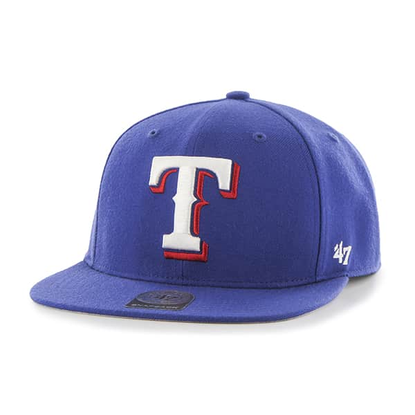 Texas Rangers No Shot Captain Royal 47 Brand YOUTH Hat