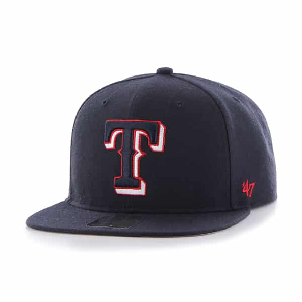 Texas Rangers No Shot Captain Navy 47 Brand Adjustable Hat