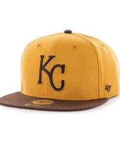 Kansas City Royals No Shot Two Tone Captain Wheat 47 Brand Adjustable Hat