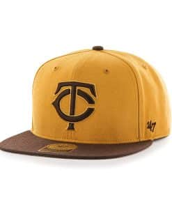 Minnesota Twins No Shot Two Tone Captain Wheat 47 Brand Adjustable Hat