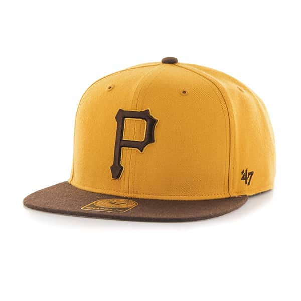 Pittsburgh Pirates No Shot Two Tone Captain Wheat 47 Brand Adjustable Hat