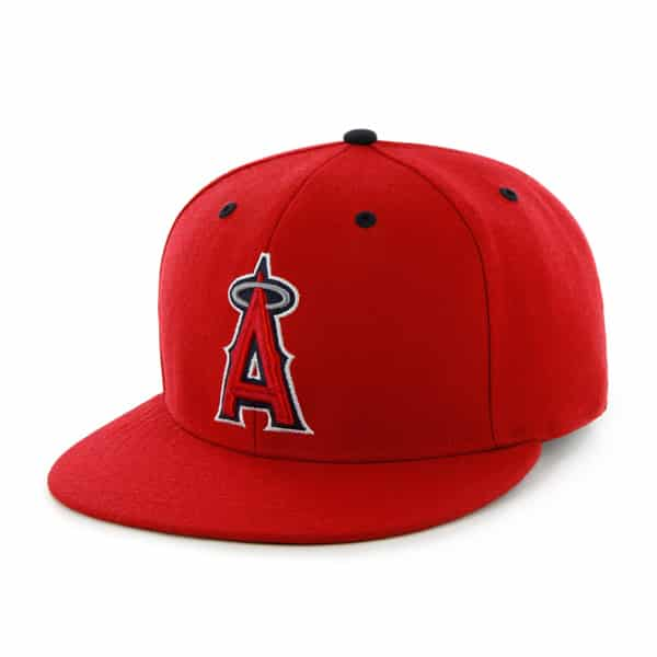 Los Angeles Angels Oath Red 47 Brand Adjustable Hat
