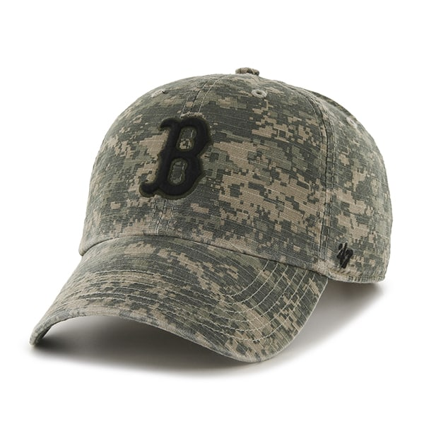 671201681c3069 Boston Red Sox Officer Digital Camo 47 Brand Adjustable Hat - Detroit Game  Gear