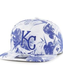 Kansas City Royals Ohana Captain Dt White 47 Brand Adjustable Hat