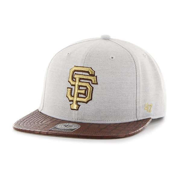 San Francisco Giants Orinoco Captain Gray 47 Brand Adjustable Hat