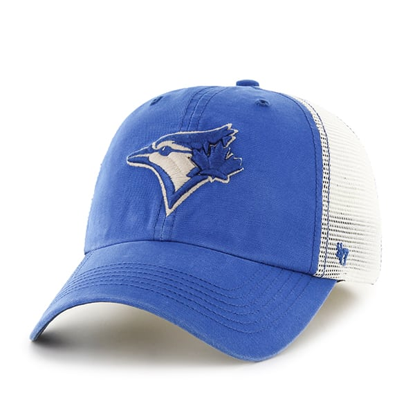 22d325c0c7ed07 Toronto Blue Jays Rockford Closer Montego 47 Brand Stretch Fit Hat - Detroit  Game Gear