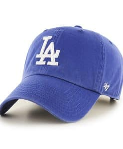 Los Angeles Dodgers Rebound Clean Up Royal 47 Brand Adjustable Hat