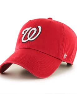 Washington Nationals Rebound Clean Up Red 47 Brand Adjustable Hat