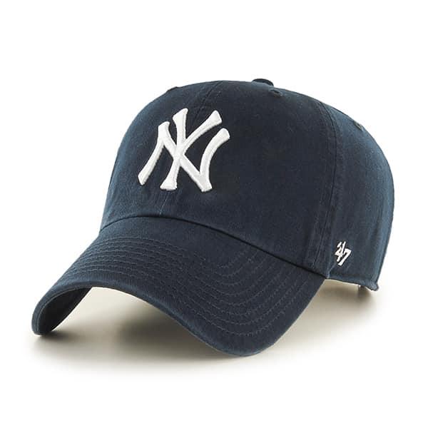New York Yankees Rebound Clean Up Navy 47 Brand Adjustable Hat
