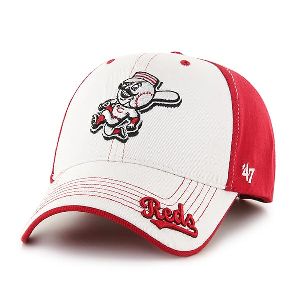 Cincinnati Reds Revolution Red 47 Brand KID Hat