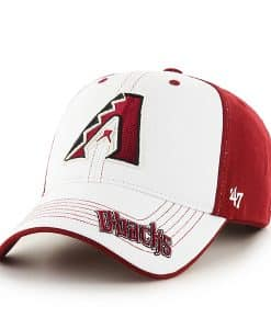 Arizona Diamondbacks Revolution Razor Red 47 Brand KID Hat