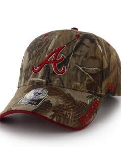 Atlanta Braves Realtree Frost Realtree 47 Brand Adjustable Hat