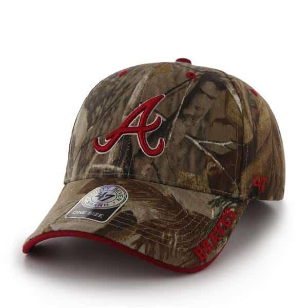 Atlanta Braves Realtree Frost Realtree 47 Brand Adjustable Hat