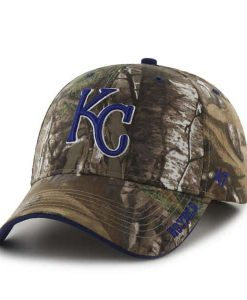 Kansas City Royals 47 Brand Camo Realtree Frost Adjustable Hat