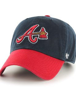 Atlanta Braves Clean Up Alternate 47 Brand YOUTH Hat