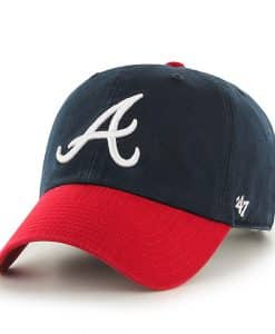 Atlanta Braves Clean Up Home 47 Brand YOUTH Hat