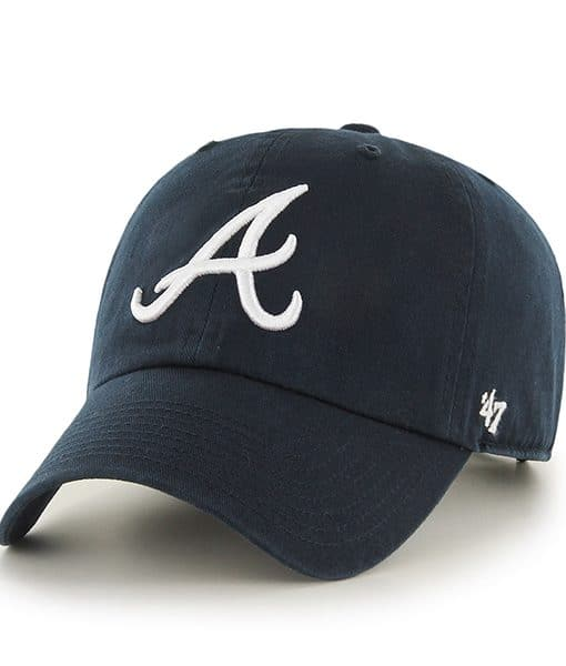 Atlanta Braves Clean Up Road 47 Brand Womens Hat