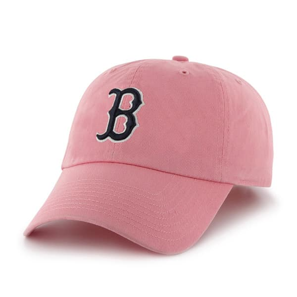 Boston Red Sox Women's Clean Up Pink Rose 47 Brand Hat