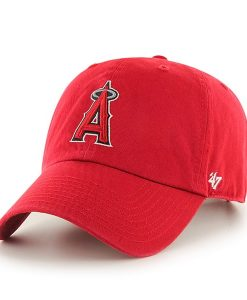 Los Angeles Angels Clean Up Home 47 Brand Adjustable Hat
