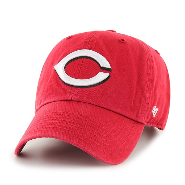 Cincinnati Reds Clean Up Home 47 Brand KID Hat
