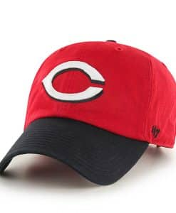 Cincinnati Reds Clean Up Road 47 Brand Adjustable Hat