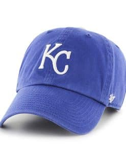 Kansas City Royals Women's 47 Brand Blue Home Clean Up Hat