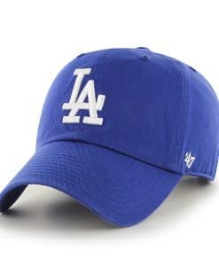 Los Angeles Dodgers Clean Up Royal 47 Brand Adjustable Hat