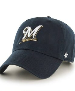 Milwaukee Brewers Clean Up Home 47 Brand Adjustable Hat