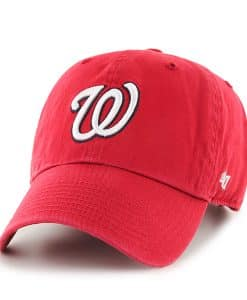 Washington Nationals Clean Up Home 47 Brand Adjustable Hat