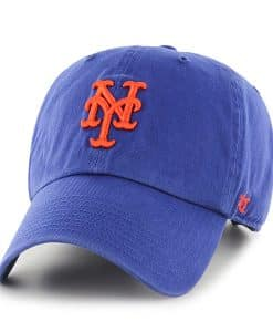 New York Mets Clean Up Royal 47 Brand Adjustable Hat