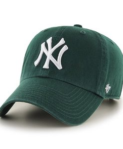 New York Yankees Clean Up Dark Green 47 Brand Adjustable Hat