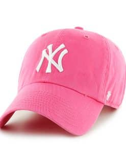 New York Yankees Clean Up Pink 47 Brand YOUTH Hat