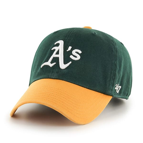 Oakland Athletics Clean Up Home 47 Brand YOUTH Hat