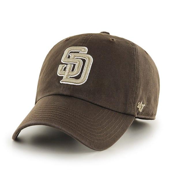 San Diego Padres Clean Up Alternate 2 47 Brand Adjustable Hat