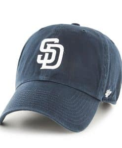 San Diego Padres Women's 47 Brand Navy Home Clean Up Adjustable Hat