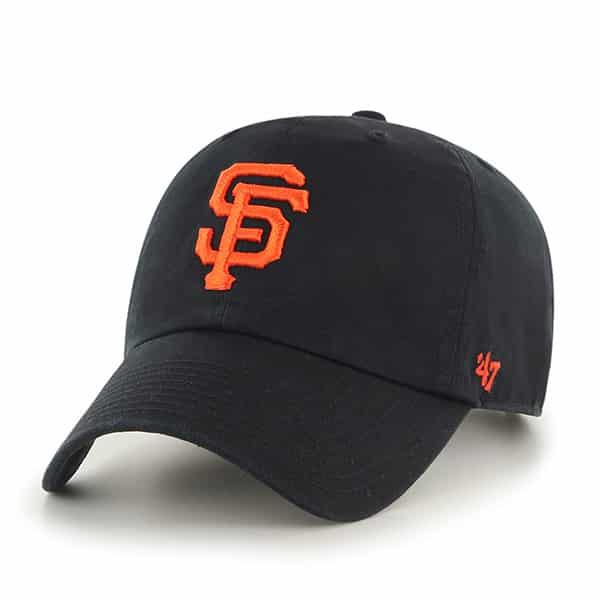 San Francisco Giants Clean Up Black 47 Brand Adjustable Hat