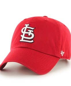 St. Louis Cardinals Clean Up Home 47 Brand Adjustable Hat