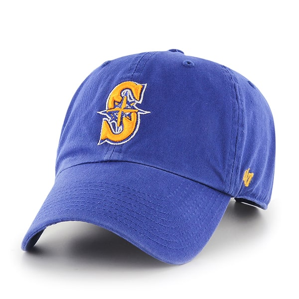 Seattle Mariners Clean Up Royal 47 Brand YOUTH Hat