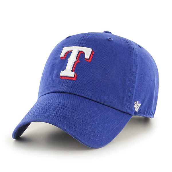 Texas Rangers Clean Up Royal 47 Brand Adjustable Hat