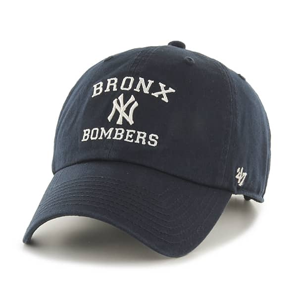 efd3498c New York Yankees Bronx Bombers Clean Up Navy 47 Brand Adjustable Hat