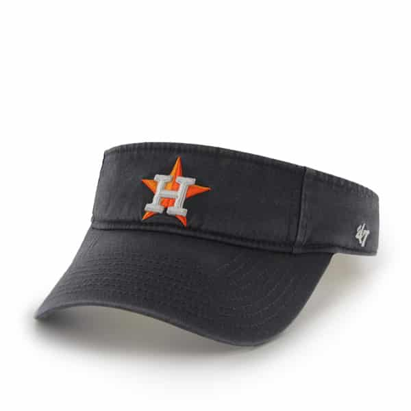 Houston Astros Clean Up Visor Navy 47 Brand Adjustable Hat