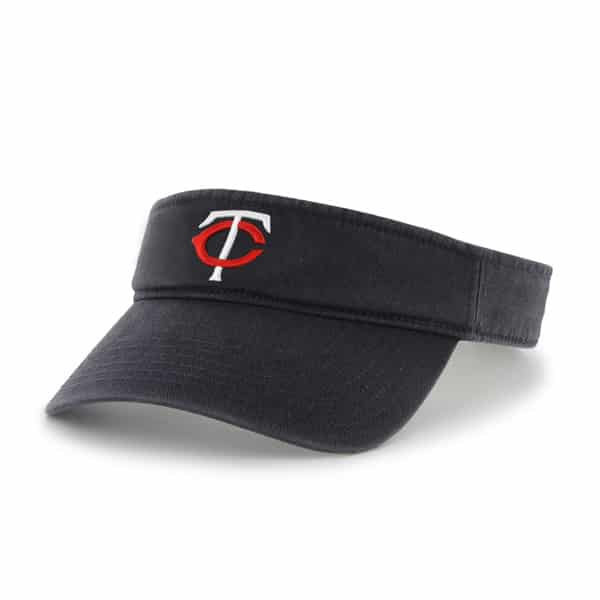 Minnesota Twins Clean Up Visor Navy 47 Brand Adjustable Hat