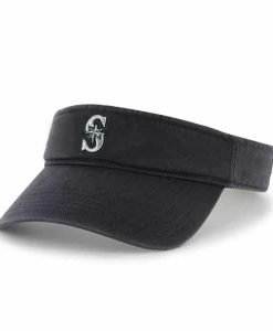 Seattle Mariners Clean Up Visor Navy 47 Brand Adjustable Hat