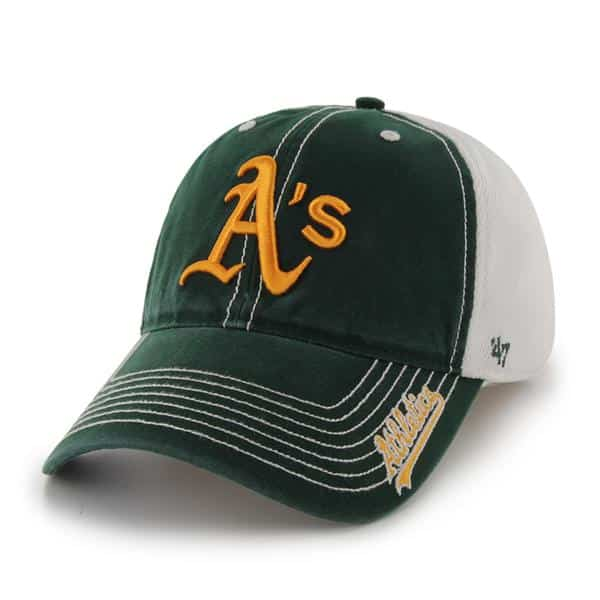 Oakland Athletics Ripley Dark Green 47 Brand Stretch Fit Hat